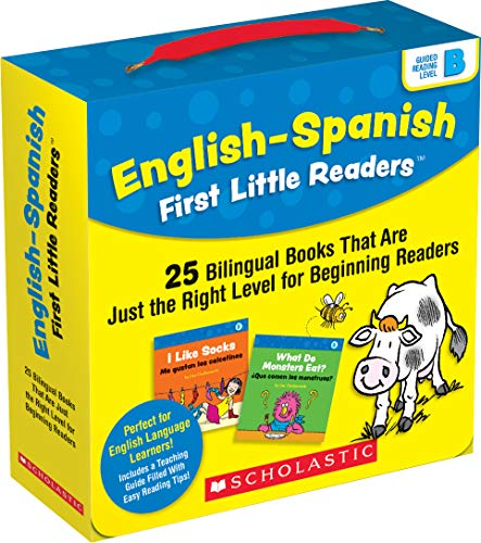 English-Spanish First Little Readers: Guided Reading Level B (Parent Pack): 25 Bilingual Books That are Just the Right Level for Beginning Readers Adrienne Downey