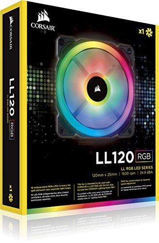 Corsair LL Series LL140 RGB 140mm Dual Light Loop RGB LED PWM Fan Single Pack Cooling CO-9050073-WW Photo #16