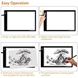 LED Light Box A4 Light Pad Ultra Slim Artcraft