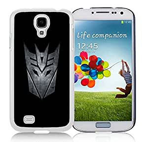Unique And Durable Designed Case With Transformers Decepticon White For Samsung Galaxy S4 I9500 i337 M919 i545 r970 l720 Phone Case