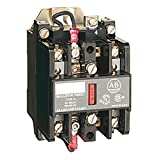 Allen-Bradley 700-N400A1 Type 700-N AC-Operated Industrial Control Relay, 4NO Contacts, 120V 60Hz, 110V 50Hz