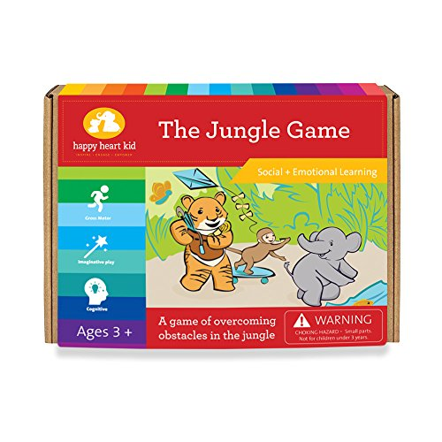 Jungle Game - A Cooperative Learning Game for Creative Kids - Montessori, Waldorf, Preschool Homeschooling Boys and Girls