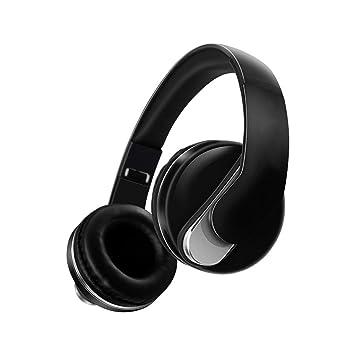 Manos Libres De Radio FM Auriculares Inalámbricos Bluetooth Micrófono HD Auriculares De Música Estéreo (Color : A): Amazon.es: Electrónica