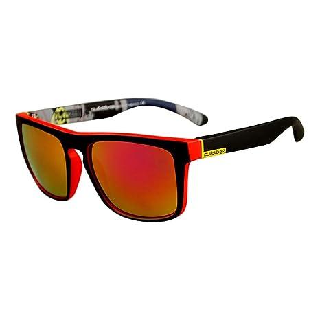 Chakil Cordones - para Hombre Gafas de Sol Polarizadas Hombre Mujer Lentes Deportivas Espejadas Gafas de