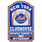 WinCraft MLB New York Mets 11/17-Inch Traditional Look Wood Sign
