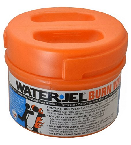 Water-Jel Technologies 3630-04 Burn Wrap in Canister, 3' x 2.5' ()