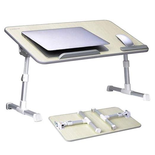 LYX1,Mesa portatil Mesa de bandejas de Mesa Ajustable portátil ...