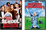 Will Ferrell Bundle Kicking & Screaming & Old School (Unrated and Out of Control) 2-DVD Bundle