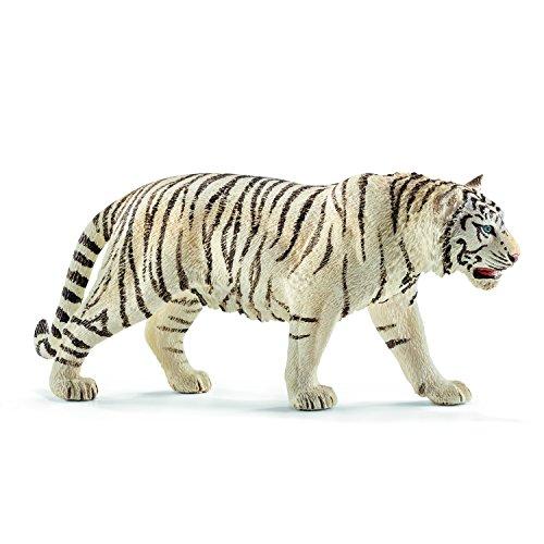 Schleich 14731 - Tiger, Tier Spielfigur, weiß