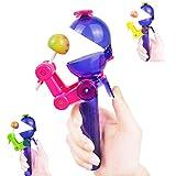 Creative Design Eating lollipop Robot Lollipops Holder Funny Lollipops Stand Gifts Fashion 2018 New Decompression Toys
