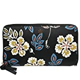 Tory Burch Wallet Hopewell Kerrington Zip Continental Floral