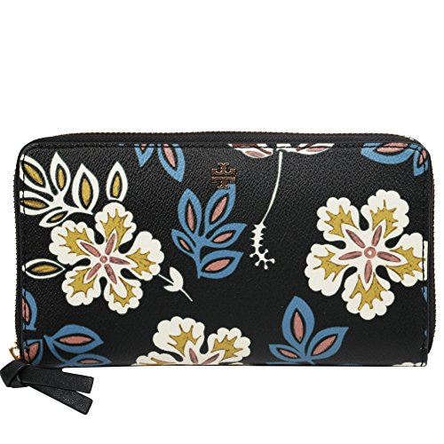 Tory Burch Wallet Hopewell Kerrington Zip Continental Floral by Tory Burch