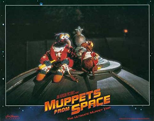 Muppets From Space POSTER Movie (1999) Style E 11 x 14 Inches - 28cm x 36cm (Jeffrey Tambor)(F. Murray Abraham)(David Arquette)(Ray Liotta)(Andie MacDowell)(Rob Schneider)(Josh Charles)