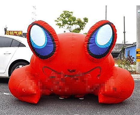 YJINGRUI inflable hinchable de cangrejo rojo cangrejo de modelo en ...