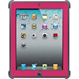 OtterBox Case with Screen Protector and Stand for Apple iPad 2, 3, 4 - Pink / Gray
