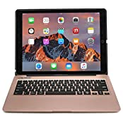 Cooper Cases(TM) Kai Skel Clamshell Backlit Keyboard Case for Apple iPad Pro 12.9 in Rose Gold (MacBook-like Design...