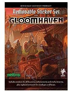 Cephalofair Games Gloomhaven Removable Sticker Set