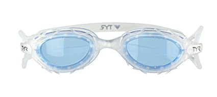 648f126ea71 Amazon.com   TYR Nest Pro Performance Goggle (Blue)   Swimming ...