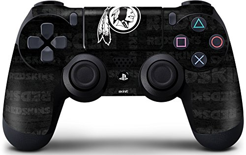 - Skinit Washington Redskins Black & White PS4 Controller Skin - Officially Licensed NFL PS4 Decal - Ultra Thin, Lightweight Vinyl Decal Protective Wrap