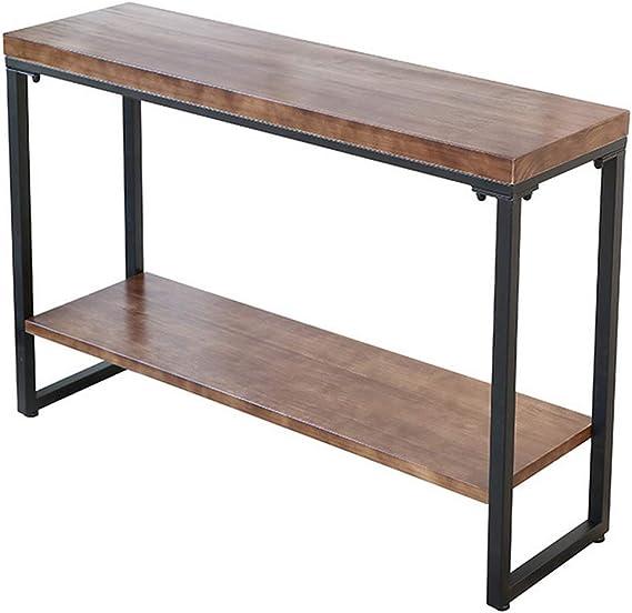 Color : White, Size : 102 * 15 * 78CM Metallo Limita Tavolini for Soggiorno Contro Il Muro Storage Table Tavolini da caff/è C-J-Xin Tabelle Corridoio Console for Il Corridoio Slim