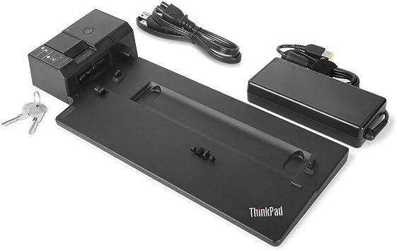 // Lenovo ThinkPad Ultra Dock Type 40A2 Docking Station // Keys /& AC Adapter
