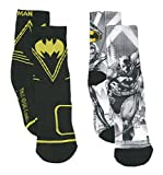 Boy's Batman Boys' 2-Pack Crew Socks (Medium)