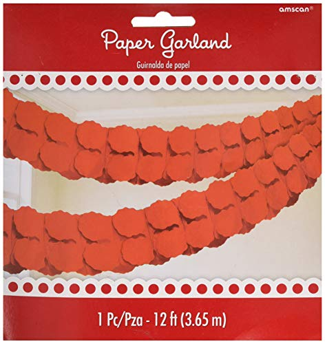 (Apple Red Paper Garland | Party)