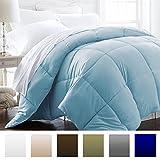 Alternative Comforter - Beckham Hotel Collection 1200 Series - Lightweight - Luxury Goose Down Alternative Comforter - Hotel Quality Comforter and Hypoallergenic - King/Cal King - Sky Blue