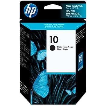 HP 10 Black Original Ink Cartridge (C4844A)