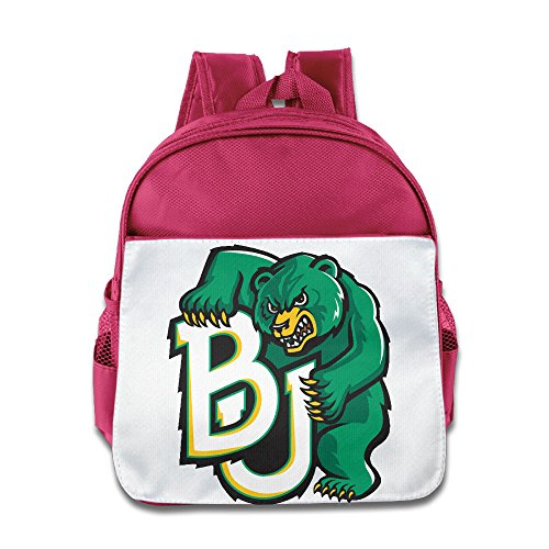 HYRONE BJ Bears Kids Children School Backpack For 1-6 Years Old Pink