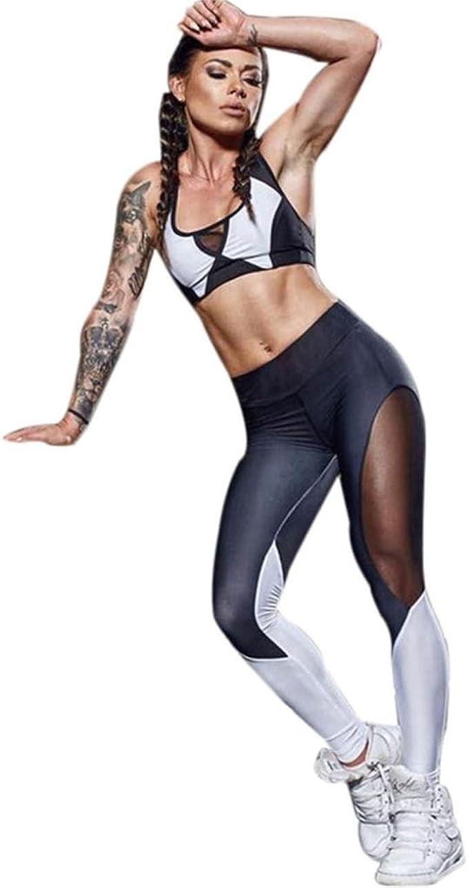 Mallas Mujer Fitness Leggings Yoga Sexy Mujer Deportivos Polainas ...