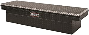 Jobox PAC1580002 Black Aluminum Single Lid Fullsize Crossover Truck Box