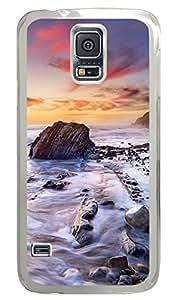 Coastal Clear Hard Case Cover Skin For Samsung Galaxy S5 I9600