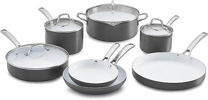 Calphalon Ceramic Nonstick Cookware Set