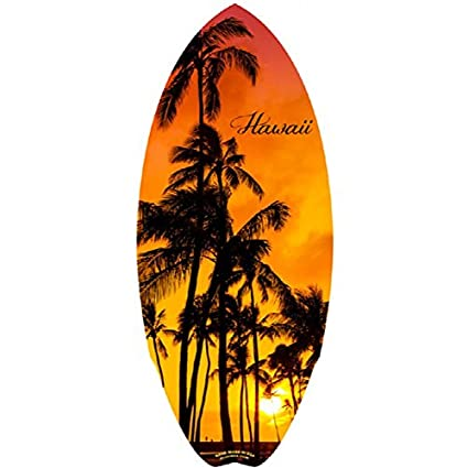 Hawaii Sunset Mini Tabla de Surf 20 &quot ...