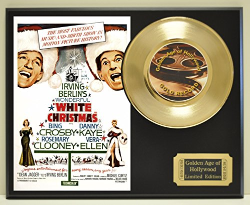 White Christmas Limited Edition Gold 45 Record Display. Only 500 made. Limited quanities. FREE US SHIPPING