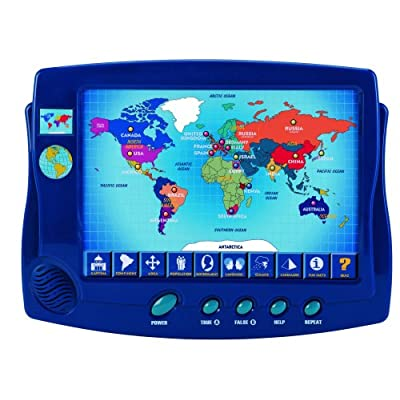 Scientific Toys Interactive Around The World Map: Toys & Games