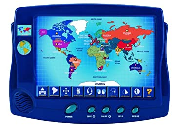 scientific toys interactive around the world map
