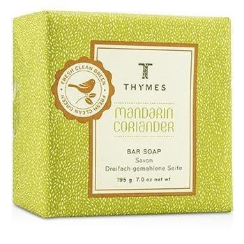 Thymes Mandarin Coriander Moisturizing Bar Soap, 7 (Mandarin Moisturizing Cleanser)