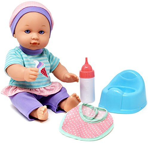 Drink and Wet Baby Doll, With Training Potty, Bottle, ()