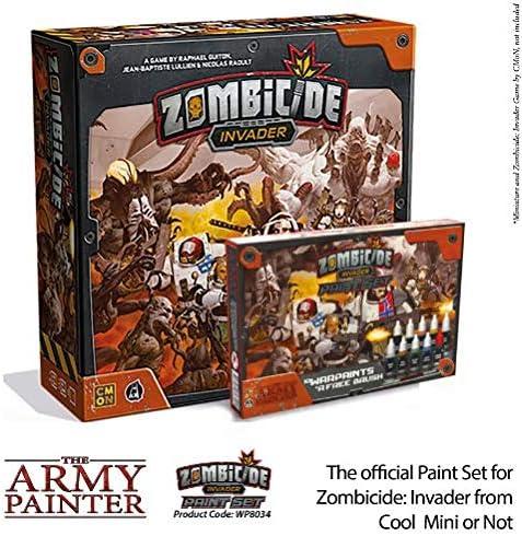 Set para Cool Mini o Not Zombicide: Invader para Tabletop Juego de mesa en miniatura The Army Painter Zombicide: Invader Malset 10 pinturas acr/ílicas 1 pincel de iniciaci/ón
