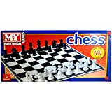 Traditional Games My Plastic Chess Board Game