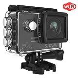 4K Action Camera, SJCAM SJ5000X Elite Waterproof Wifi Underwater Camera- 4k@24FPS 12MP/Gyro Stabilization/2.0 LCD Screen (Waterproof Case & Accessories Included)- Black