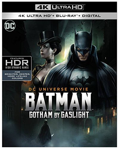 4K Blu-ray : Batman: Gotham By Gaslight (With Blu-Ray, 4K Mastering)