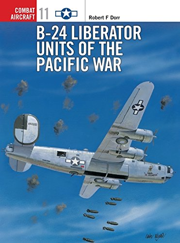 Used, B-24 Liberator Units of the Pacific War (Osprey Combat for sale  Delivered anywhere in USA