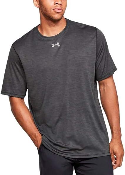 New Under Armour Men/'s Locker Short Sleeve T-Shirt Black Large