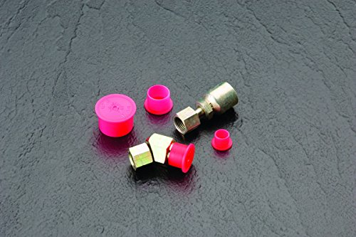 to Cap Thread Size 1//8 PE-LD Red Pack of 300 Caplugs ZPN2Q1 Plastic Push-On NPT Cap to Cap Thread Size 1//8 PN-2