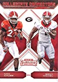#5: 2018 Panini Contenders Draft Picks Collegiate Connections #6 Nick Chubb/Sony Michel Georgia Bulldogs Football Card