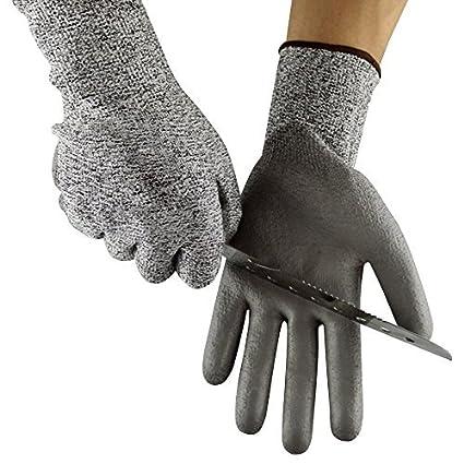 Resistente a los cortes guantes PPE nivel 5 protección – EN388 certificado – Guantes de seguridad