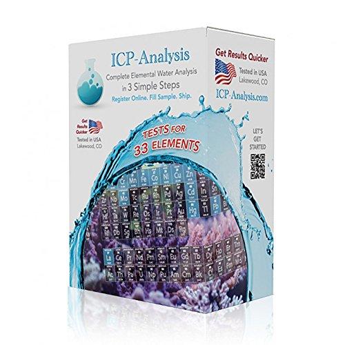 ICP Analysis 33 Elemental Water Test Kit - Two Sample Kit ... by ICP Analysis